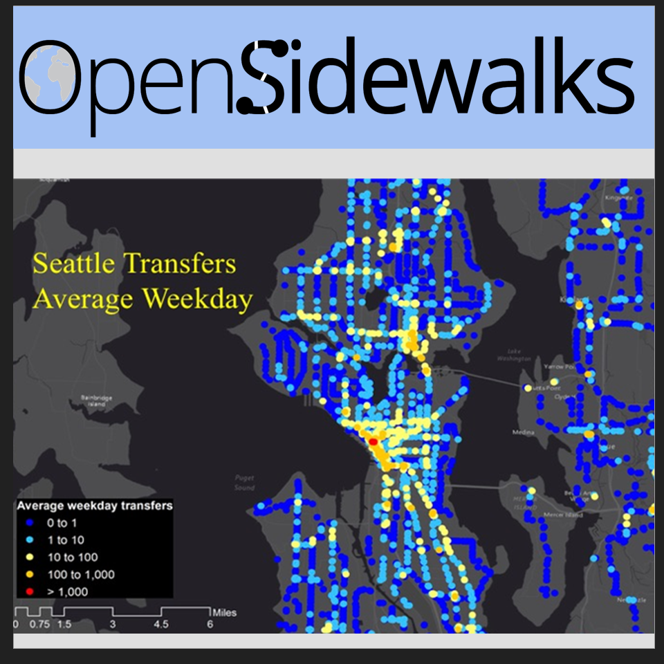 Open Sidewalks project collects pedestrian infrastructure data
